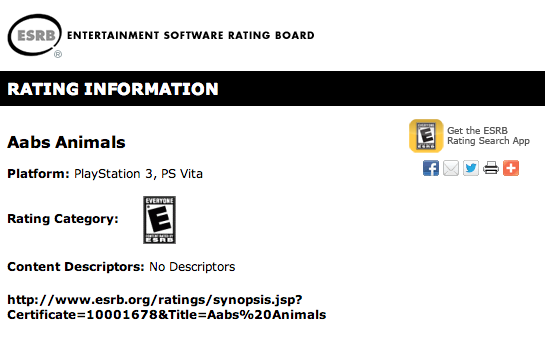 Aabs-Animals-ESRB-PS3