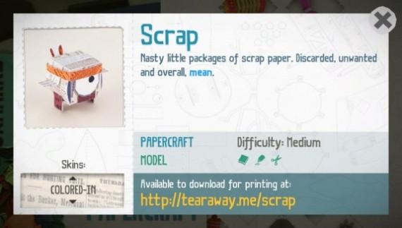 Tearaway-Scrap